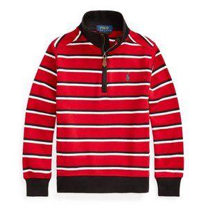 NWT Polo Ralph Lauren Quarter Zip pullover 3T $50